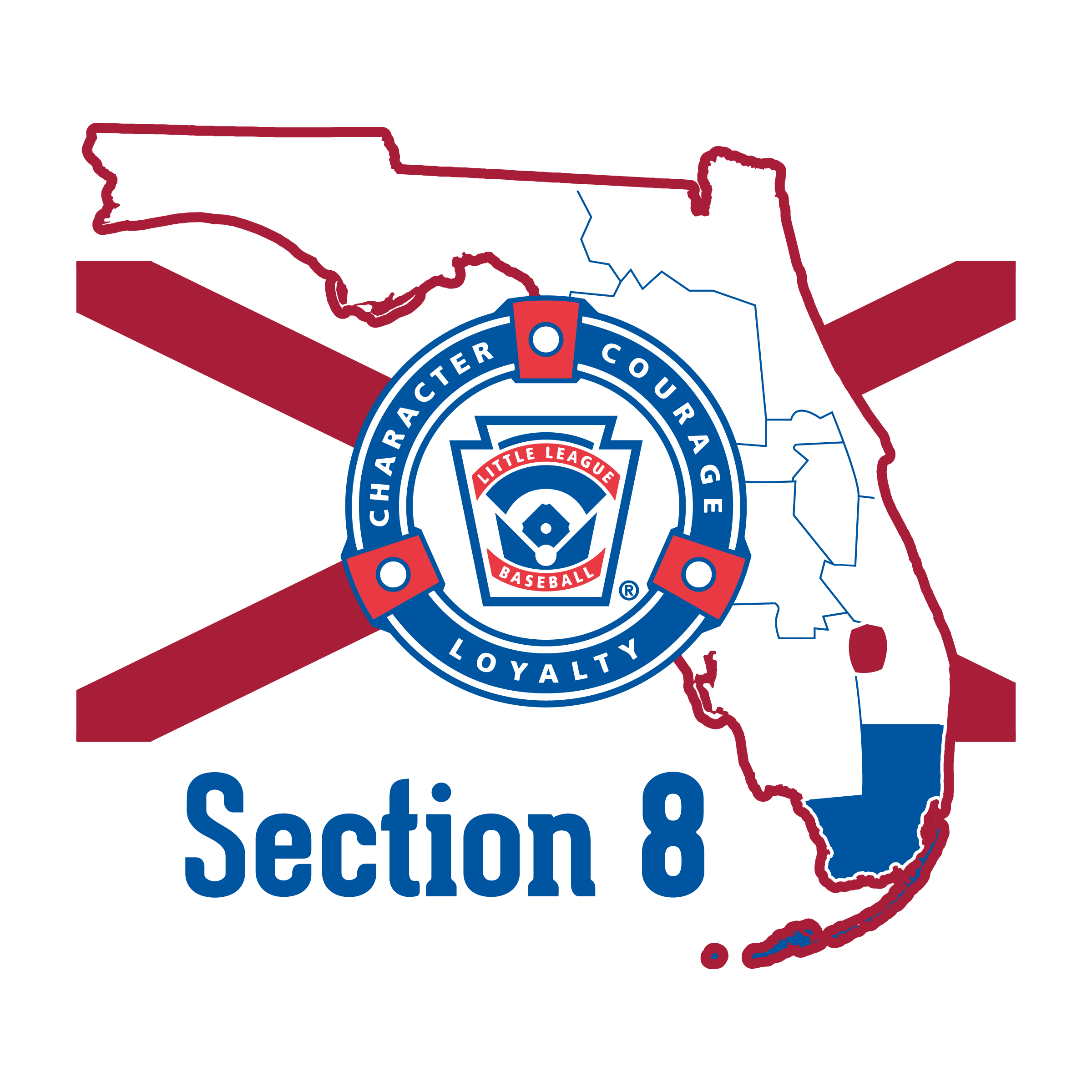 Districts League Florida Baseball amp; Sections - Little